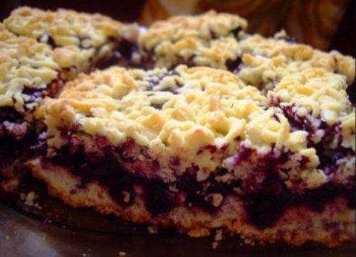 Вишневый пирог – простой рецепт пошагово с фото, быстро
