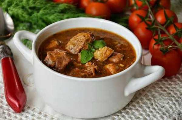 ТОП- 7 Гуляш: традиционные и новые рецепты